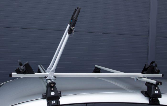 Велокрепление на крышу автомобиля: обзор популярных моделей