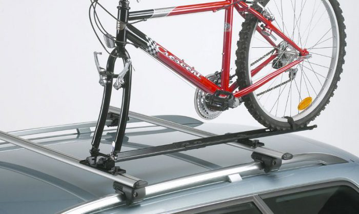 Крепление велосипеда на крышу автомобиля своими руками