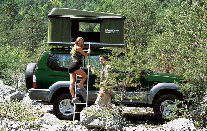 Палатка на крышу автомобиля: какую выбрать