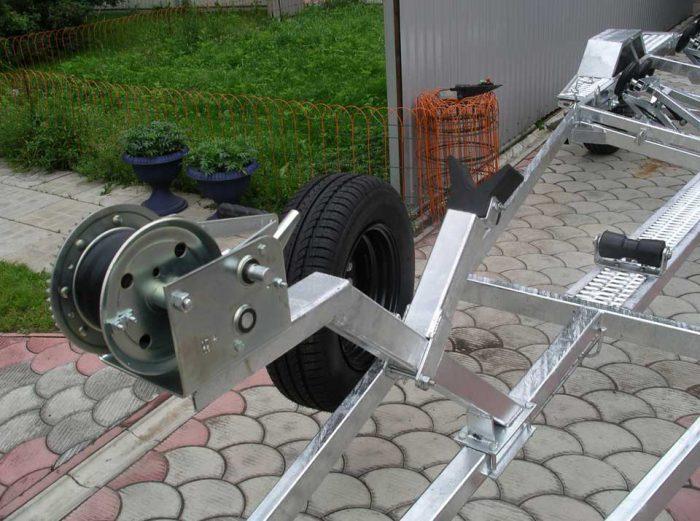 лебедка прицепа для гидроцикла