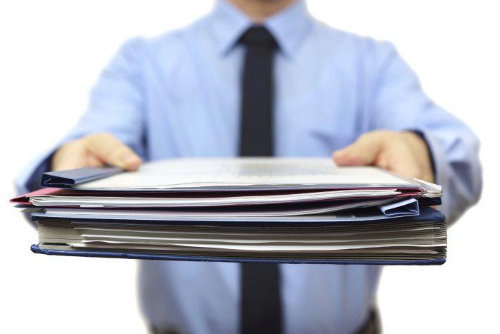 пакет документов для регистрации