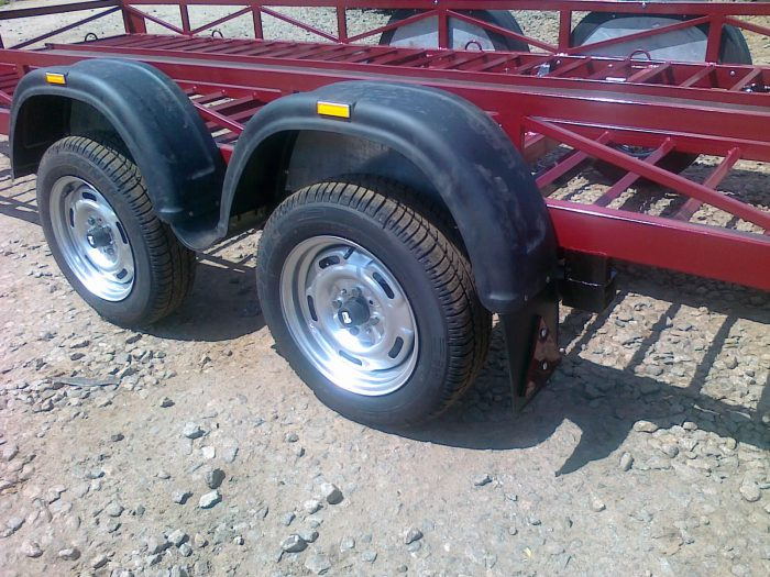 колеса прицепа для квадроцикла