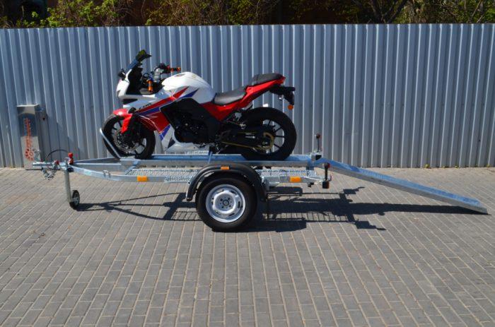 лафет для мотоцикла