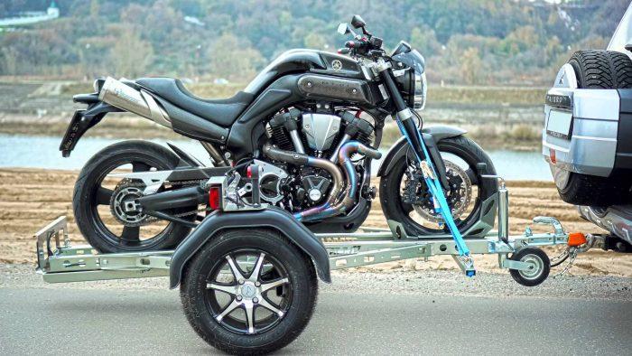 прицеп для мотоцикла