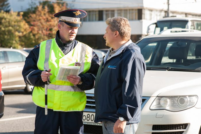 штраф авто без регистрации