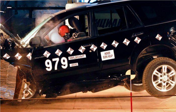 китайские автомобили тест