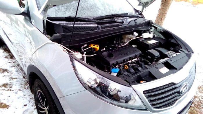 подогрев двигателя в холод