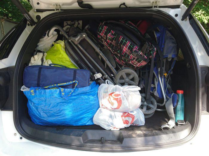 багажник прицеп