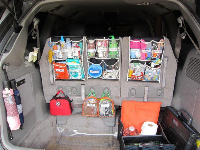 органайзеры в авто