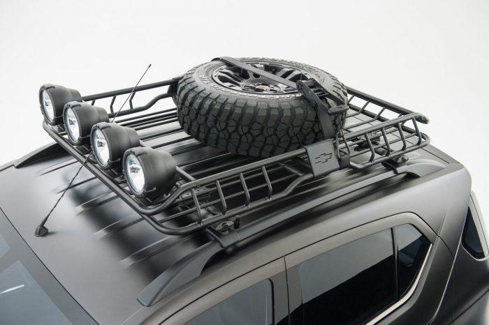 шевроле багажник