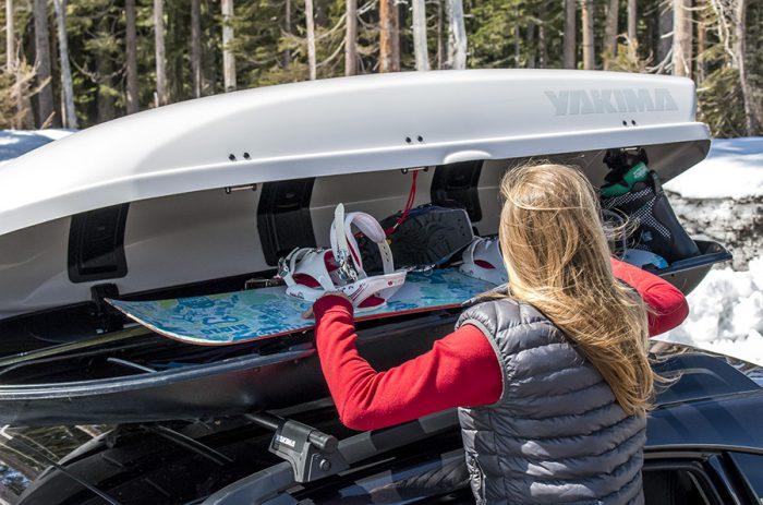 автобокс крепление для сноуборда
