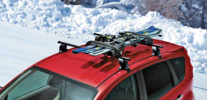 лыжи сноуборд на крышу крепления