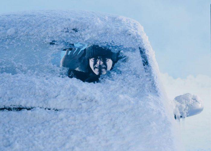 авто зимой утепление