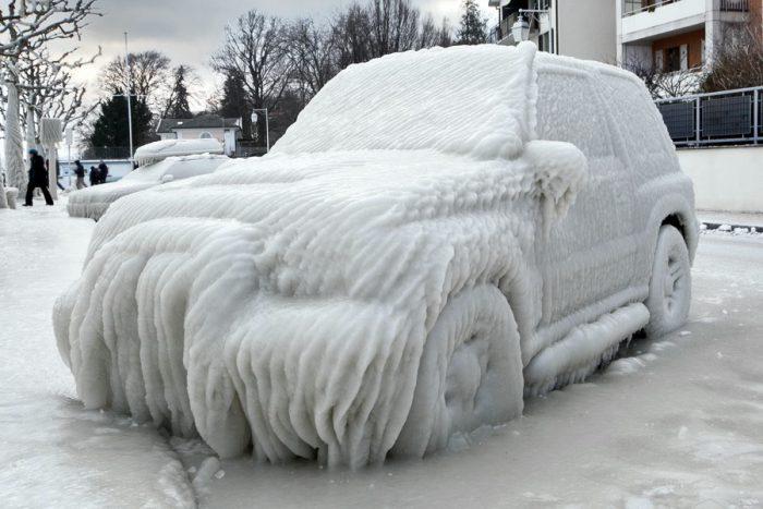 мороз утепление авто