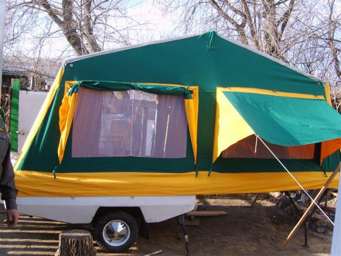 палатка прицеп скиф