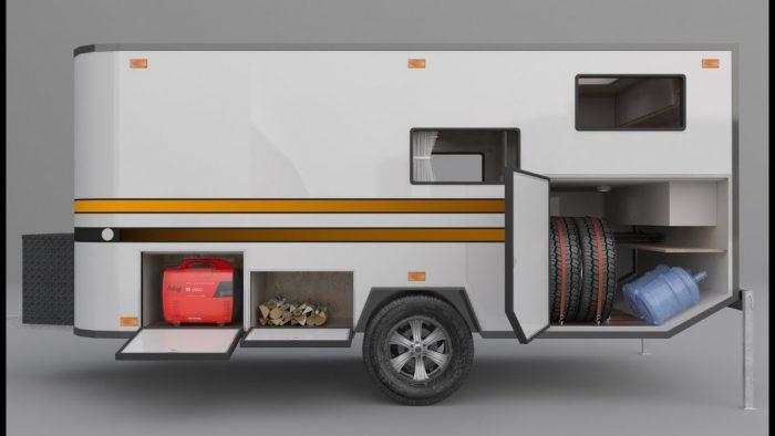 прицеп фургон внедорожный
