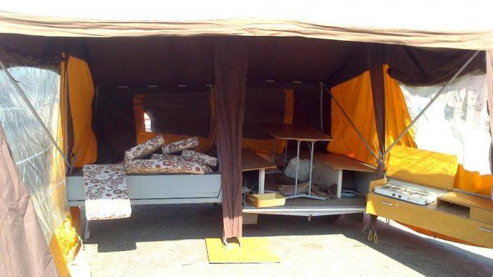 прицеп палатка для туризма