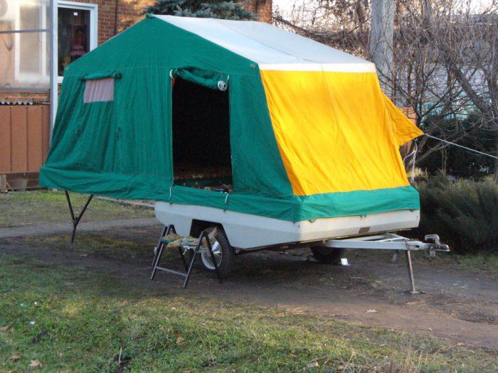 прицеп-палатка скиф