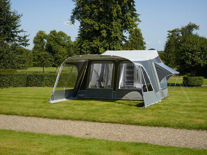 прицеп с палаткой
