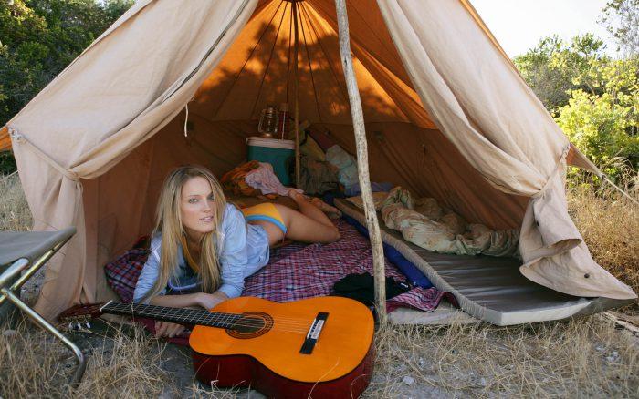 прицепы-палатки