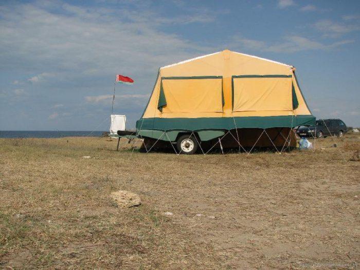 скиф палатка прицеп
