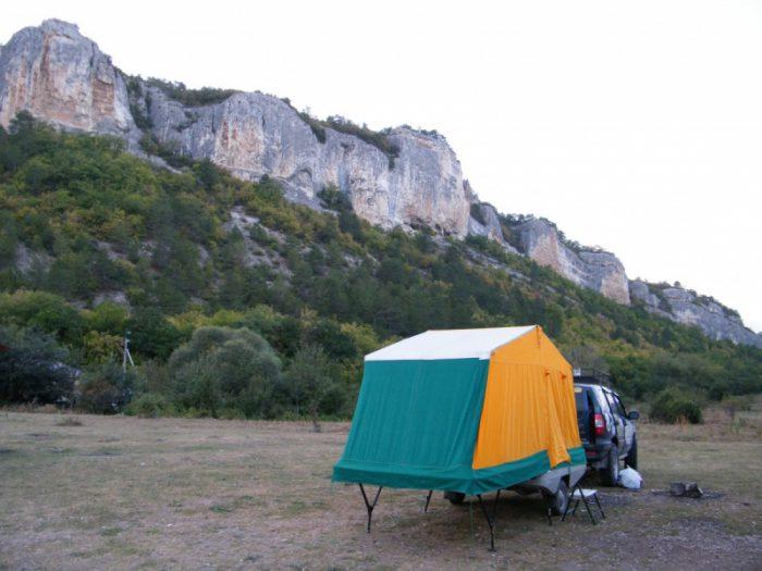 скиф прицеп-палатка