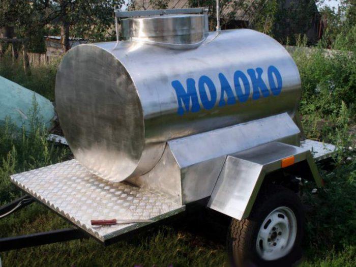 цистерна для молока