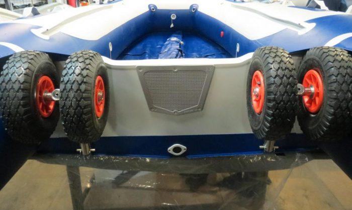 транцевые колеса для перевозки лодки