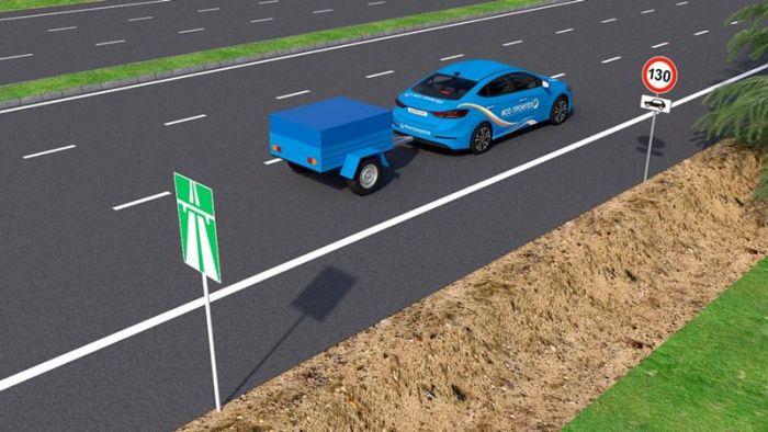 Езда с прицепом на легковом автомобиле по новым правилам
