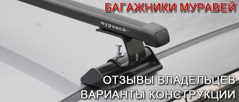 Багажник Муравей