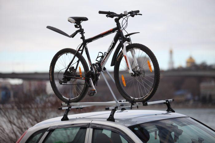 на крышу велокрепление атлант