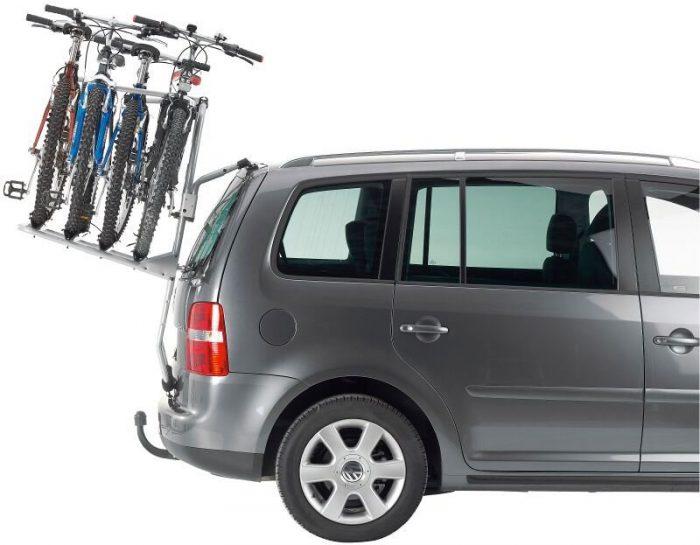 велобагажник для авто на заднюю дверь
