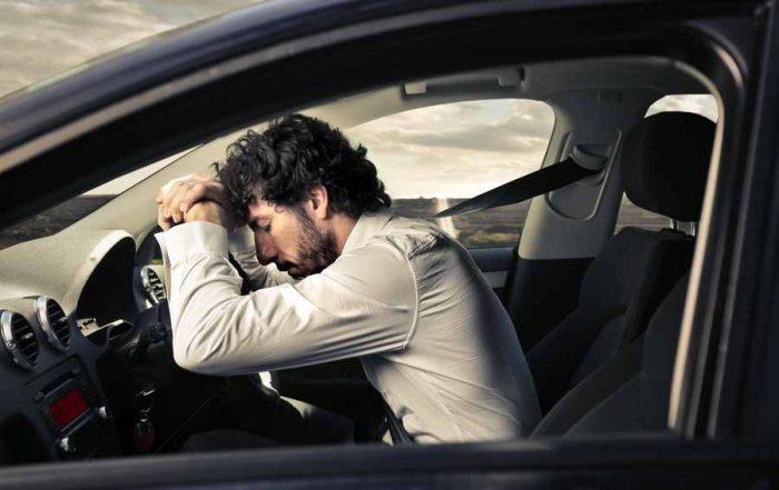 уснуть за рулем