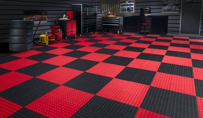 резиновый пол гараж