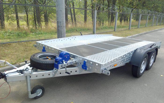 перевозка авто на прицепе