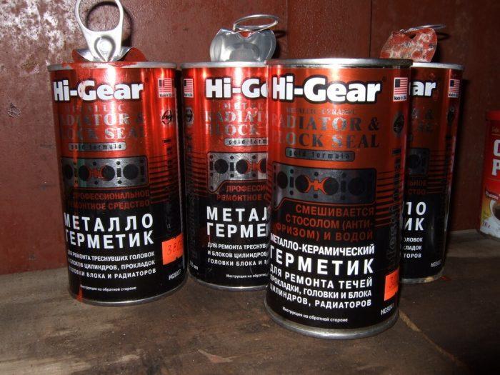 герметики для радиаторов
