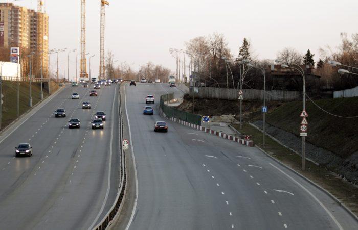 знаки сужения дороги