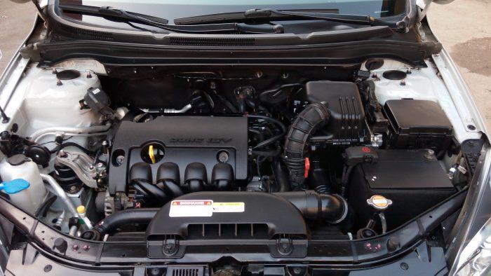 пароочистка двигателя
