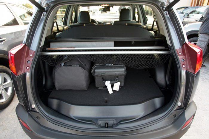 Сетка для багажника своими руками