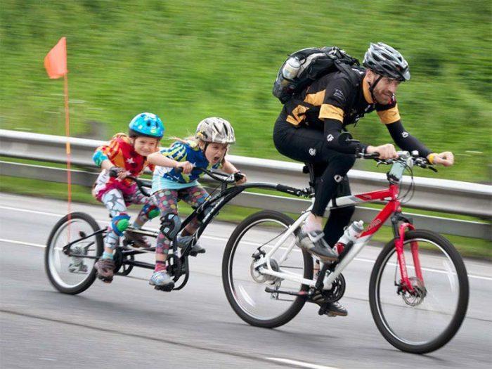 прицеп на велосипед