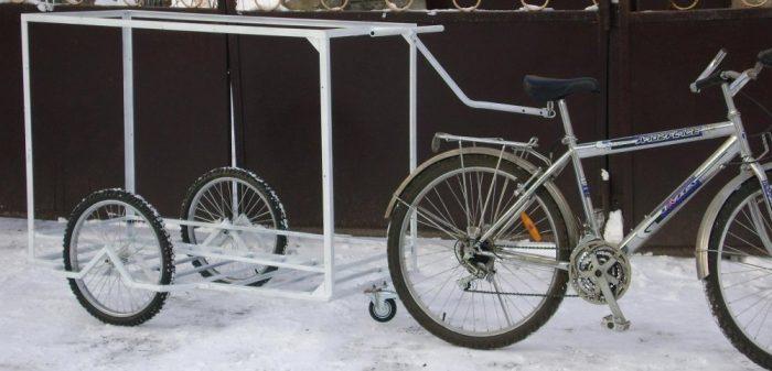 прицеп велосипеды