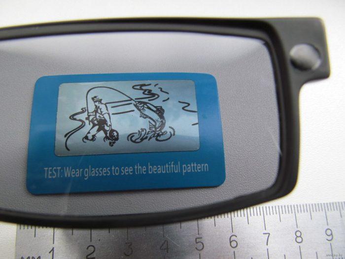 проверка поляризации очки
