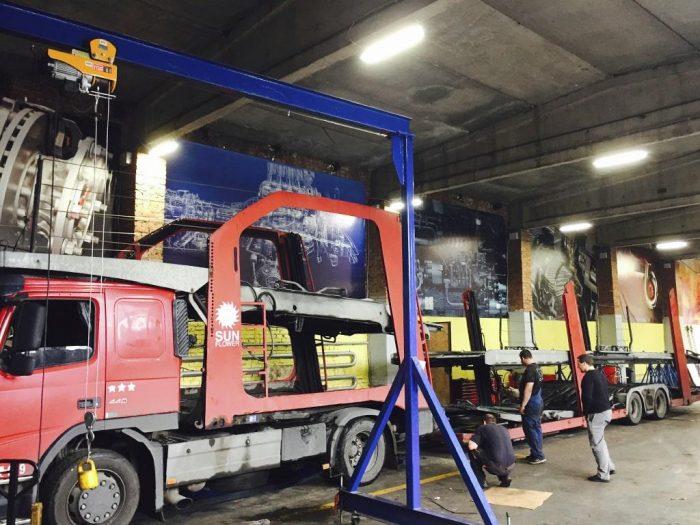 ремонт полуприцеп грузовой