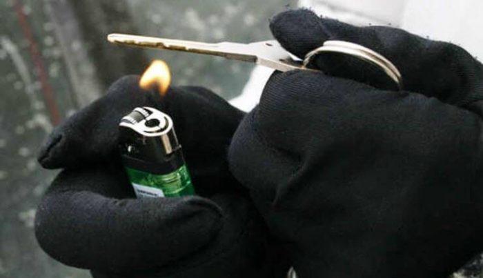 ключ замок зажигания