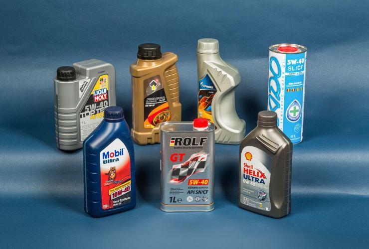 масло изношенный двигатель