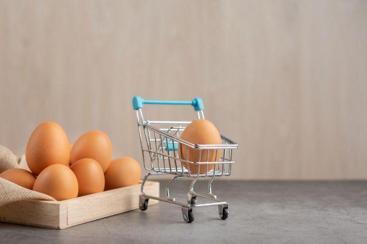 яйца для машины