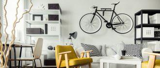 велосипед-на-стене