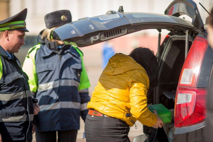 багажник проверка