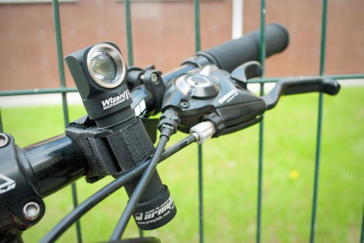 фонари вело