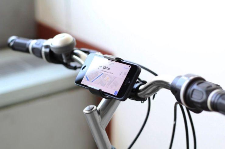 крепление велосипед телефон
